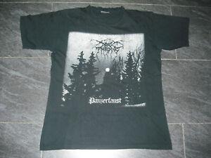 DARKTHRONE - Panzerfaust orig. Shirt 1995 L / XL ; Enslaved;Venom;Sodom;Mayhem