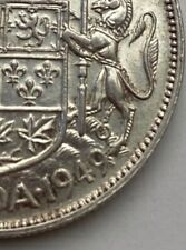 CANADA 1949 WIDE DATE 50 CENTS KING GEORGE VI  .800 SILVER  C6