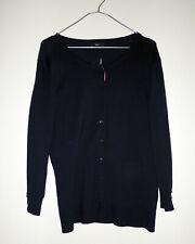M&Co navy cardigan Size 16