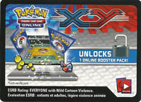 25 XY Codes Base Set TCG Pokemon Online Booster Pack - Emailed FAST!