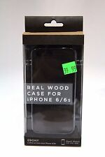 New Recover Real Wood Case For iPhone 6/6s Ebony