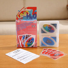 UNO H2O Waterproof Clear Game Playing Card Family Fun Toy