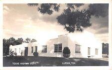 1941 RPPC Texas Highway Dept. Lufkin TX