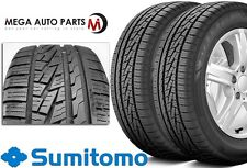 2 X New Sumitomo HTR A/S P02 245/45/17 99W BW All Season High Performance Tires