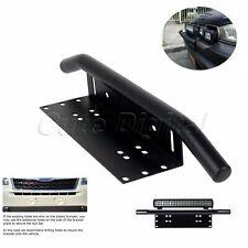 1x Car Trig Bumper License Plate Mount Bracket for LED Work Fog Light Universal