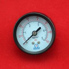 """2"""" 50mm back connect  pressure gauge 0-5 bar (70psi) 5kg/cm2 manometer ,PT1/4"""""""