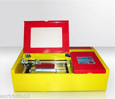 40W CO2 Laser Stamp Engraving Cutting Machine Engraver Cutter USBPortHighPrecise