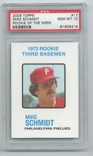 2006 (1973) Topps ROW Mike Schmidt Rookie Graded PSA 10