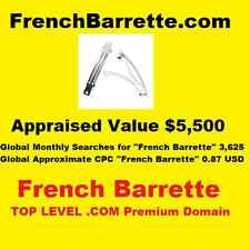 FrenchBarrette.com - Top Level Premium Domain - French Barrette PageRank 2