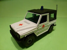 GAMA 445 MERCEDES BENZ G KLASSE - AMBULANCE - WHITE 1:25 - VERY GOOD