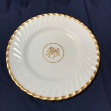 Vintage Minton Gold Rose Dinner Plate H4680 Gilded Bone China Made in England