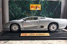 Maisto 1:12  1992 Jaguar XJ220 Silver. Never Displayed