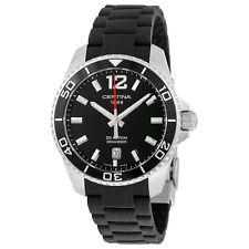 Certina DS Action Quartz Black Dial Mens Watch C0134101705700