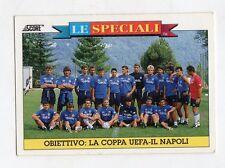 figurina card - CALCIATORI CARD SCORE 1993  - n. 16 COPPA UEFA NAPOLI