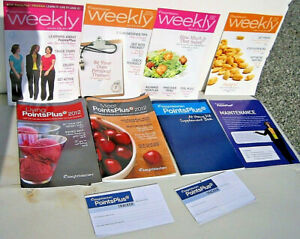 Weight Watchers Points Plus At Home Kit guide, plan books, trackers INFO answers