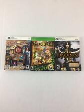 PC Mystery Masters Jewel Quest Disciples 3 Set of Three NWT New Games