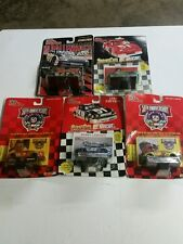 Lot of 5 Nascar Racing Champions Die Cast 1:64 Collectors Cars Various