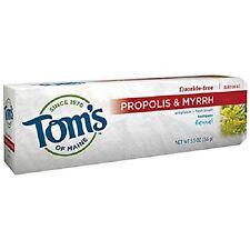 Propóleos & Mirra Natural pasta de dientes con xilitol, hinojo 5.5 OZ, Tom's of Maine