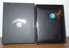 c84321c417352 NEW in Gift Box Jack Daniels Old No 7 Passport Wallet Black 5.5