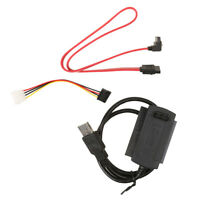 SATA IDE Drive to USB2.0 Converter Cable for 2.5/3.5/5.25 Hard Drive