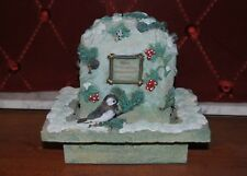 New listing Pfaltzgraff Winterwood Bird Water Fountain Not sure if works, No chips No box