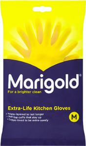 Marigolds Extra Life Kitchen Gloves Size Medium Brand & New Sealed
