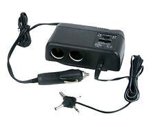 PL12V2AC Car 1 TO 2 Cigarette Lighter Multiplier & Adjustable AC V Transformer