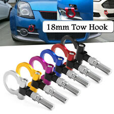 18mm Aluminum Racing Tow Towing Hook Ring for Toyota Honda Mazda Subaru BMW AU