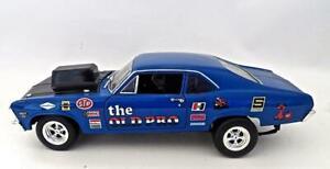 1972 Chevy Nova SS The Old Pro 1/18 Ertl American Muscle Car Nice  NO BOX