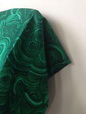 FREE SHIPPING! Tony Duquette Gemstone MALACHITE Fabric Jim Thompson