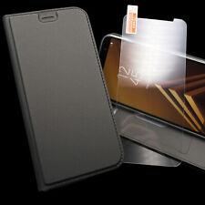Handytasche Handyhülle Flip Cover Case + Panzerfolie Etui Schale 360 Wallet Set