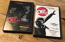 Russell Simmons Def Poetry Season 1 & Season 5 DVD lot