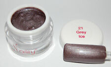 Color gel UV/LED  7ml  Grey Ice  N°21 Naility USA gel de couleur 0.23 fl oz