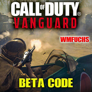 Call of Duty Vanguard Cod Early Access Beta Code Key Xbox PC