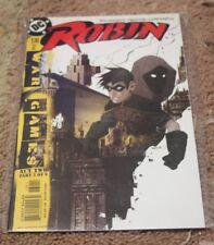 Robin comic # 130 (Nov 2004, DC) war games act 2 pt 5  spoiler tim drake