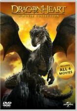 Dragonheart 4 Movie Collection (dennis Quaid Christopher Masterson) DVD R4