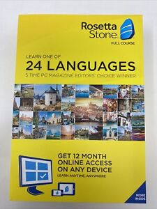 Rosetta Stone: Learn a Language for 12 Months Choose 1 of 24 Languages- Key Card