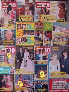 Novella 2000 N 24 29 41 49 1992 Alba Parietti Luara Antonelli Madonna Caroline