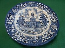 Beautiful Avon Collector Plate Independence Hall Enoch Wedgwood-England