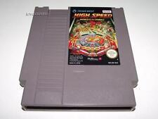 High Speed World's #1 Pinball Nintendo NES PAL A Preloved