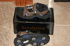 Revelation Lite Comfort Women's Golf Shoes Brown Sandals Us size 9 M New