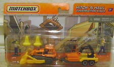MATCHBOX 2009 HITCH N HAUL CONSTRUCTION KINGS *NEW*