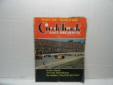 VINTAGE  MAGAZINE - CIRCLE TRACK AND HIGHWAY B- OCTOBER 1971N - AUTO RACING