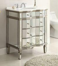 Benton Collection Asselin Vintage Silver Home Bathroom Sink Vanity K2274-36 36�