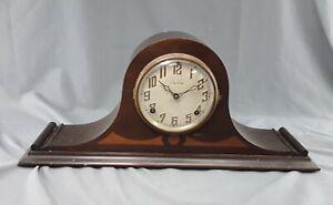 Antique Ingraham Duplex Hathor Mantle Chiming Clock ~ non-working
