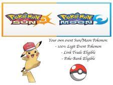 Pokemon Ultra Sun and Moon 20th Movie Event Ash Hat Pikachu Alolan Hat