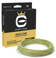 Cortland Competition Braid Core Level Taper .022 Fly Line - Free Fast Shipping