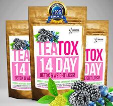 Mixed Berry teatox 14 día desintoxicación Set (pérdida de peso Té, Té Adelgazante Quemar Grasa de té)