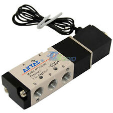 """5 Way Electric Micro Solenoid Water Valve 24V AC 1/8"""" Inch"""