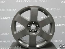 GENUINE AUDI TT RONAL 17INCH ANTHRACITE ALLOY WHEELS X4, FABIA,VW GOLF MK4 IBIZA